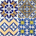Vintage ceramic tiles Stock Photography