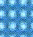 Vintage cerulean country checkered background. Stock Photos