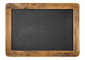 Vintage chalkboard isolated white horizontal vertical alternative Royalty Free Stock Photos