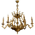Vintage chandelier Royalty Free Stock Images