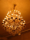 Vintage chandelier Stock Photos