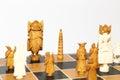 Vintage chess Royalty Free Stock Photo