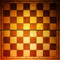 Vintage chessboard Stock Photos