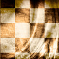 Vintage chessboard Royalty Free Stock Photo
