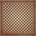 Vintage chessboard background vector illustration Stock Image