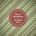 Vintage christmas card background Royalty Free Stock Photo
