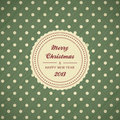 Vintage christmas card background Stock Photo