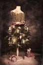 Vintage Christmas Card Royalty Free Stock Photo