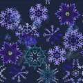 Vintage Christmas elements seamless pattern background Royalty Free Stock Photo