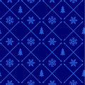 Vintage christmas pattern Royalty Free Stock Photos