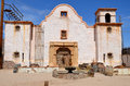 A vintage church tucson arizona april at old tucson on april in tucson arizona Stock Photos