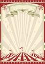 Vintage circus Royalty Free Stock Photo