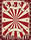 Vintage circus poster background advertising Royalty Free Stock Photo