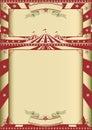 Vintage circus show Royalty Free Stock Photo