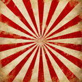 Vintage Circus Sunburst rays illustration