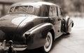 Vintage Classic Car Sepia