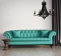 Vintage classic elegant living room