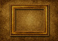Vintage classical frame on victorian background Royalty Free Stock Images