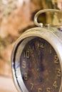 Vintage clock closeup Stock Photography
