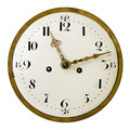 Vintage clock face Royalty Free Stock Photo