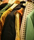 Vintage clothes Royalty Free Stock Photo