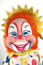 Vintage clown doll Royalty Free Stock Photo