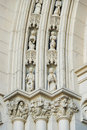 Vintage Colonial Architectural Detail in a Havana,Cuba Church Royalty Free Stock Photo