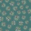Vintage color seamless pattern