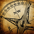Vintage compass background Royalty Free Stock Photo