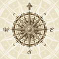 Vintage compass rose Royalty Free Stock Photo