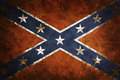 Vintage Confederate Flag Royalty Free Stock Images