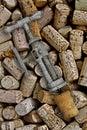 Vintage corkscrew Royalty Free Stock Photography