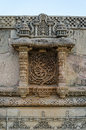 Vintage crafted at adalaj stepwell in ahmedabad india gujarat Royalty Free Stock Photos