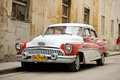 Vintage cuban car a parked in havana cuba legislation passed in has legalized sales to all citizens who were previously Royalty Free Stock Image