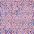 Vintage Damask Purple Pink background pattern Stock Image