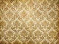 Vintage damask wallpaper Royalty Free Stock Photos