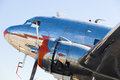 Vintage DC-3 Airplane Royalty Free Stock Photo
