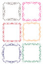 Vintage decorative design border vector borders and frames Stock Image