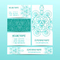 Vintage decorative elements. Business Cards and banners. Oriental pattern, illustration. Islam, Arabic Indian turkish motif