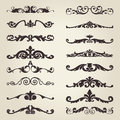 Vintage decorative elements the vector image of Royalty Free Stock Photo
