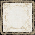 Vintage Decorative Fabric Grun Royalty Free Stock Image