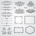 Vintage design elements Stock Image