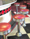 Vintage diner Stock Image