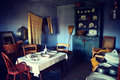 Vintage Dining Room Royalty Free Stock Photo