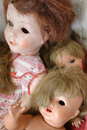 Vintage dolls Royalty Free Stock Photography