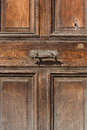 Vintage door handle antigua guatemala in the house Royalty Free Stock Photos