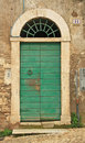 Vintage door italy europe Royalty Free Stock Photo