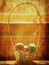 Vintage easter background Stock Photo