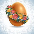 Vintage Easter egg Royalty Free Stock Photo