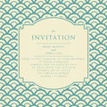 Vintage elegant wedding invitation invitations and announcements in retro style Stock Image